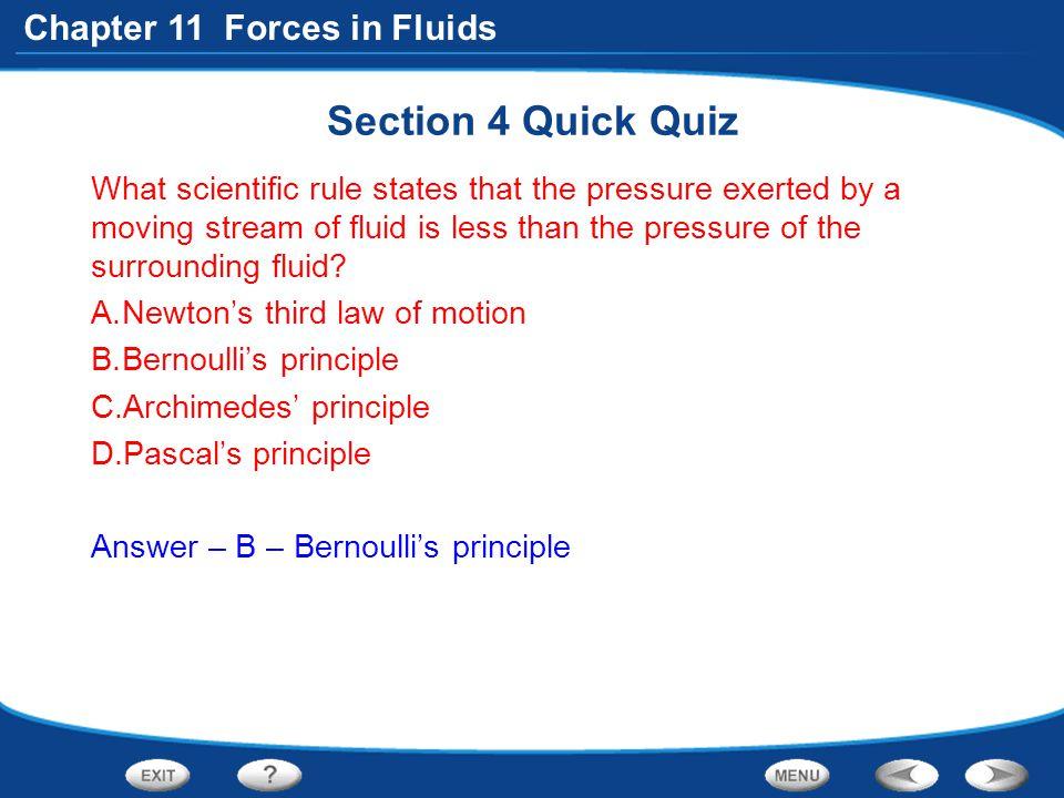 Section 4 Quick Quiz