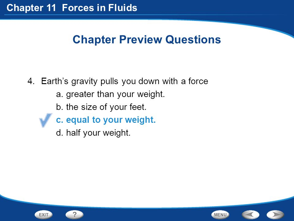 Chapter Preview Questions