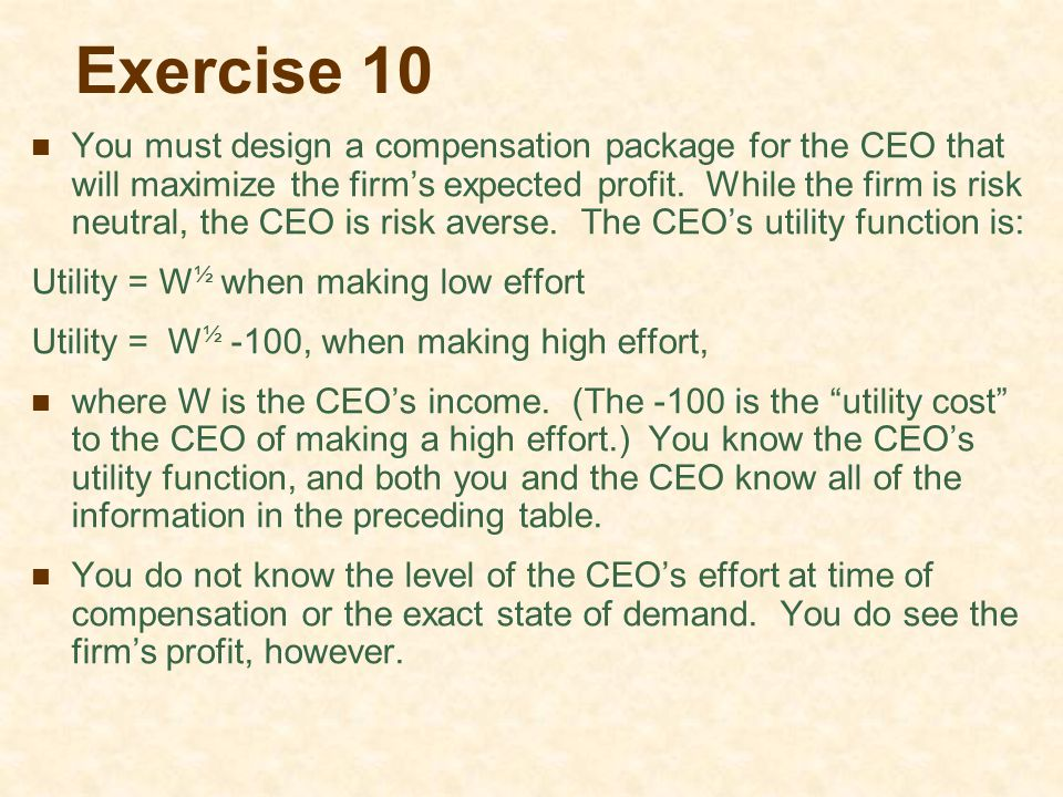 Exercise 10