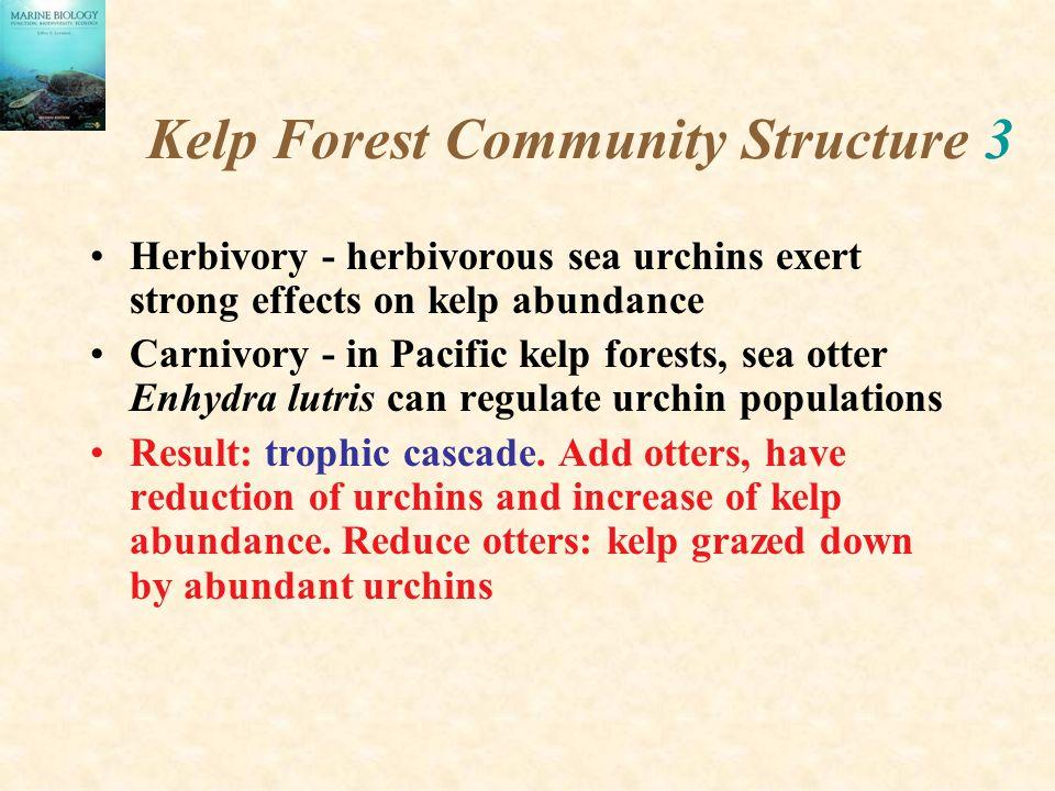 Kelp Forest Community Structure 3