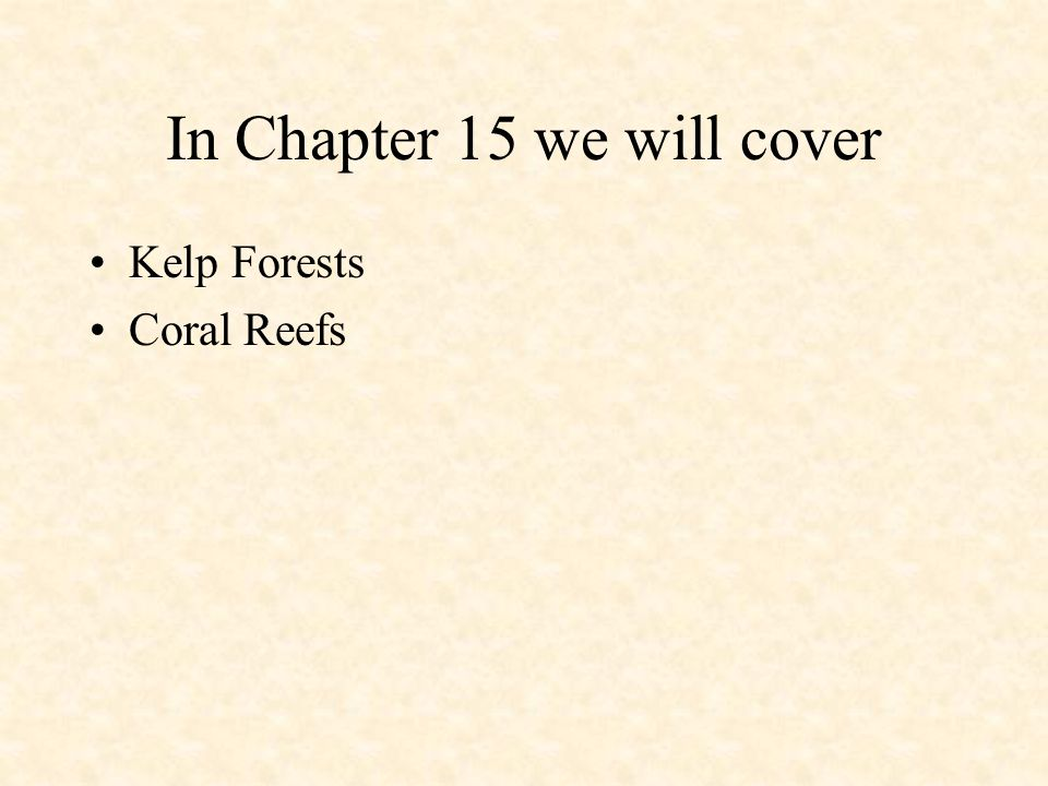 In Chapter 15 we will cover
