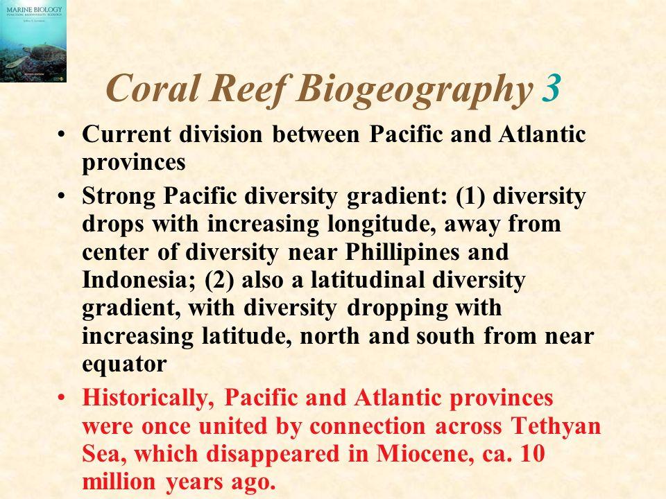 Coral Reef Biogeography 3