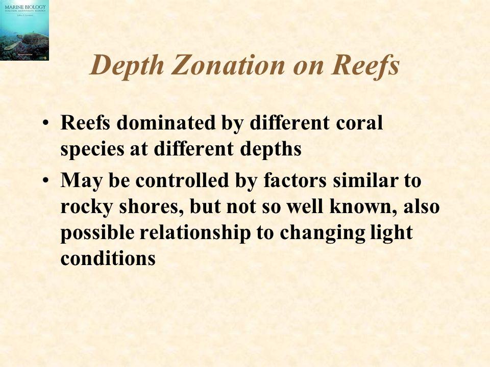Depth Zonation on Reefs