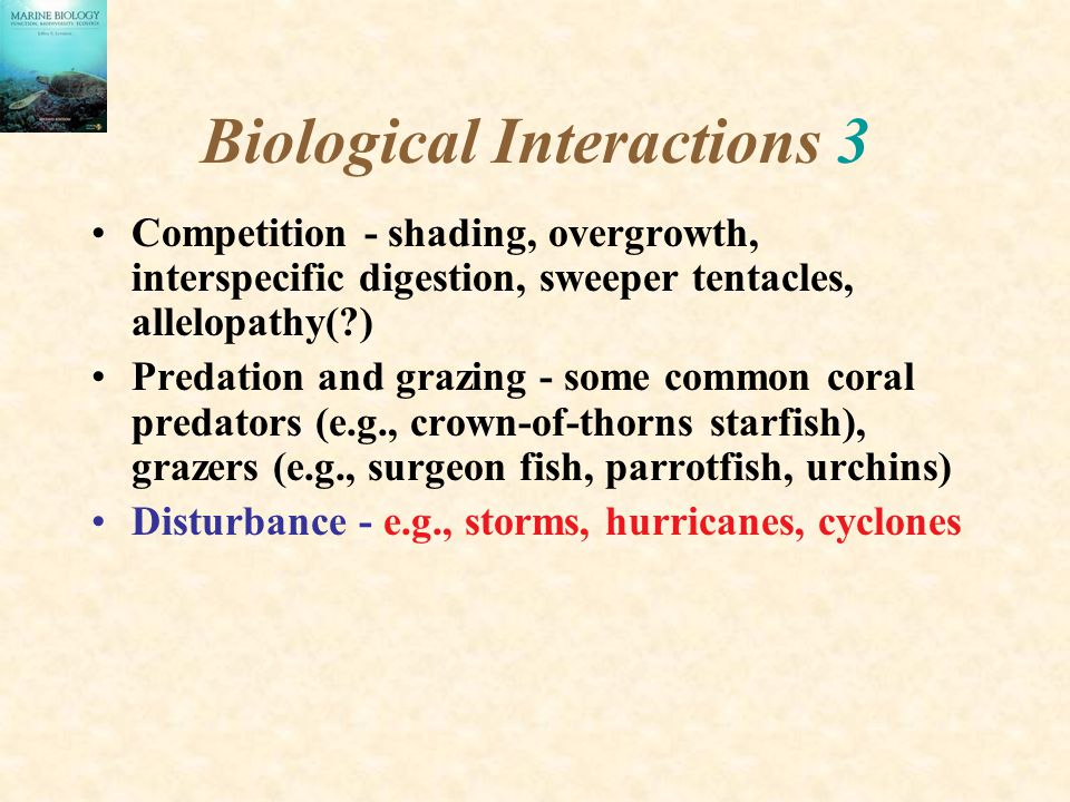 Biological Interactions 3
