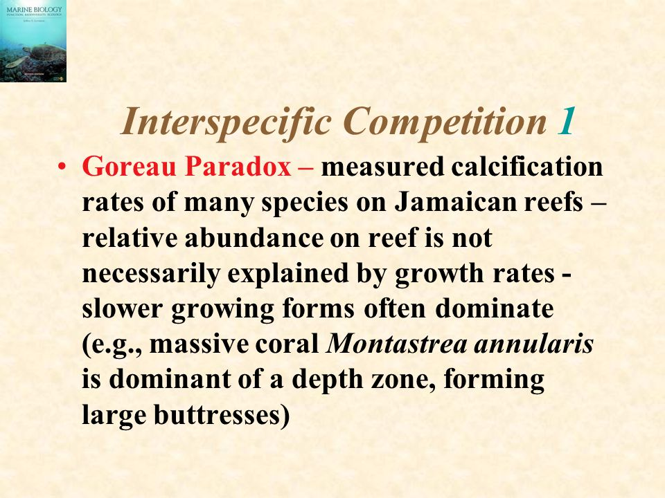 Interspecific Competition 1