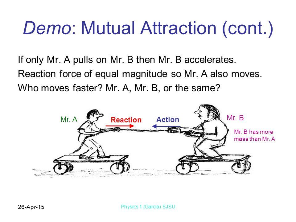 Demo: Mutual Attraction (cont.)