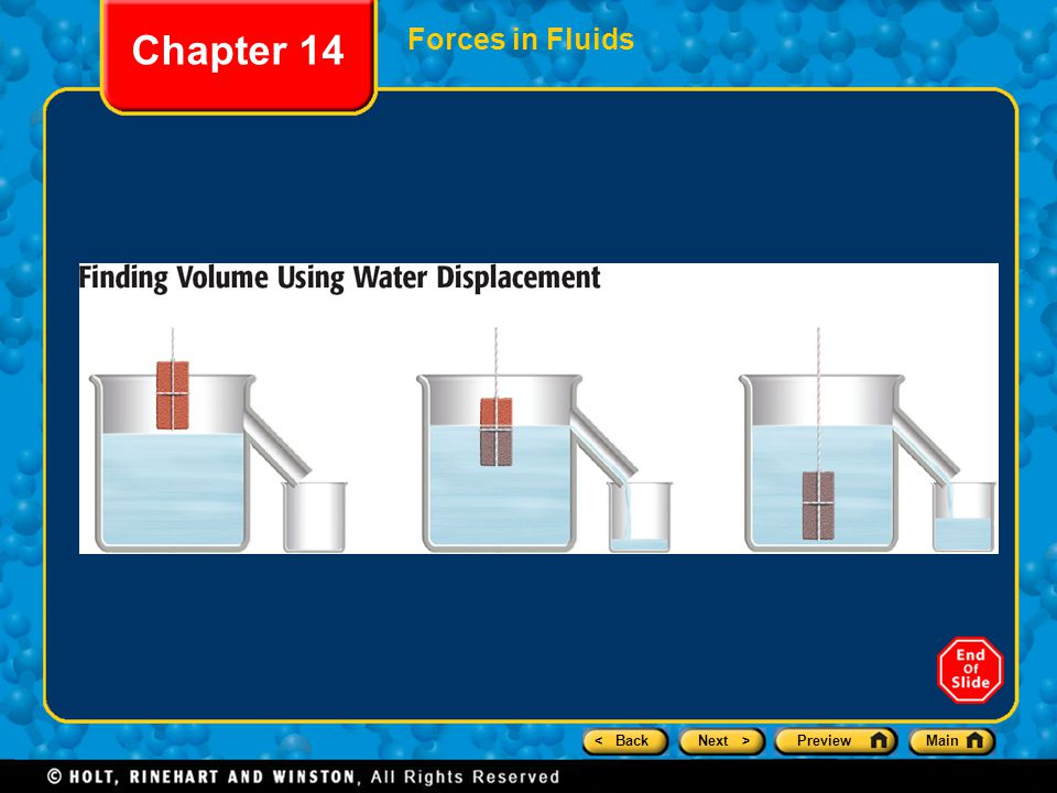 Chapter 14 Forces in Fluids