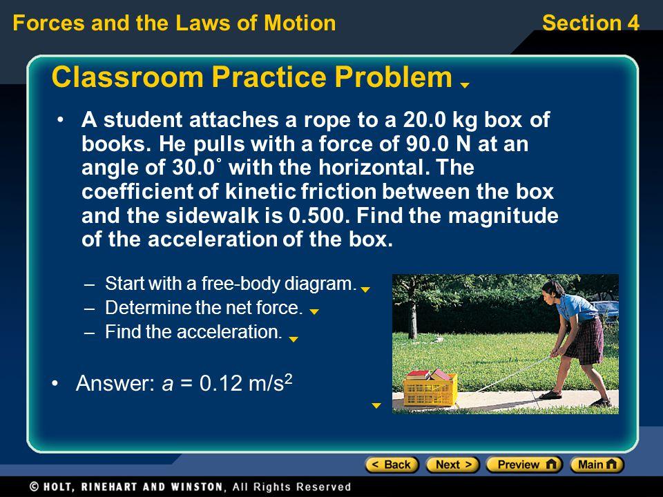 Classroom Practice Problem