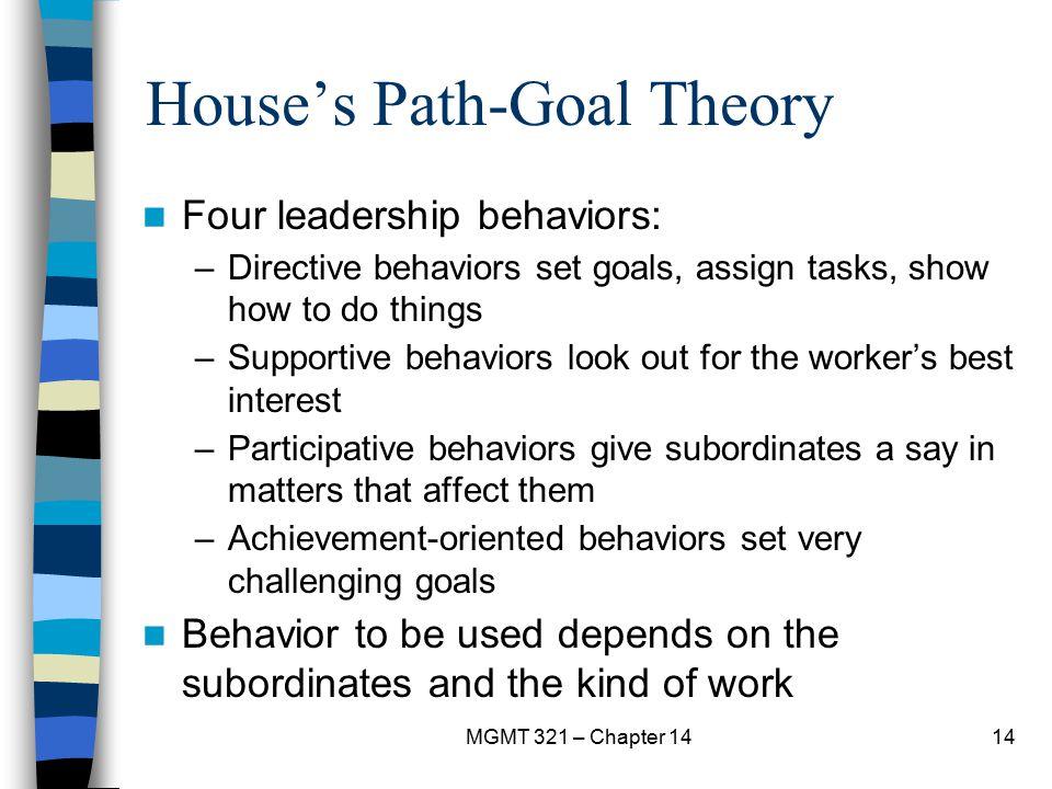 House's Path-Goal Theory