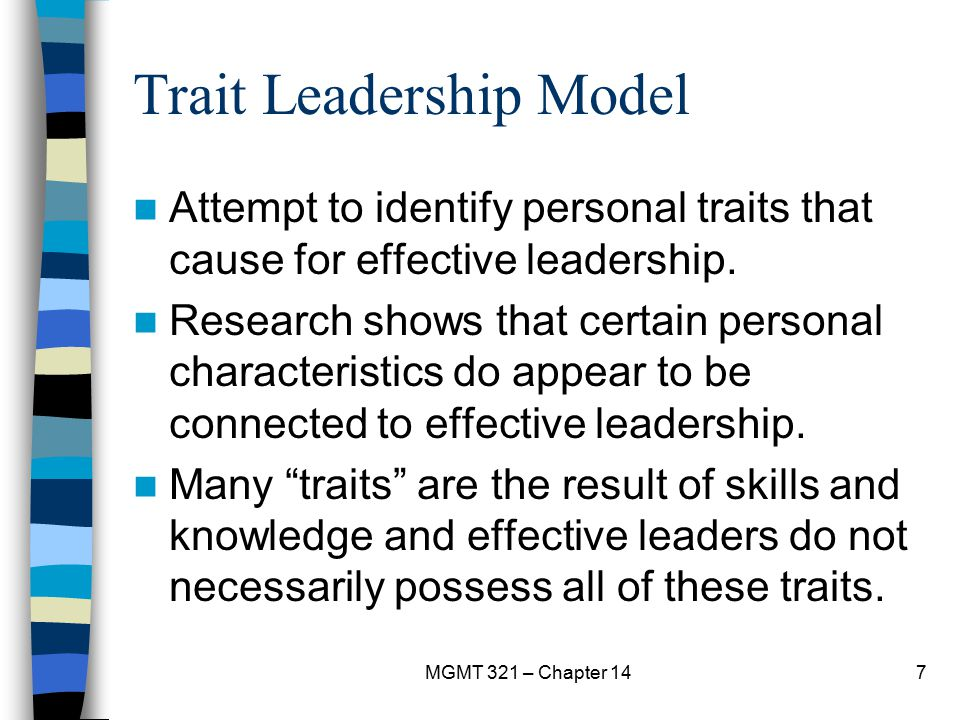 Trait Leadership Model