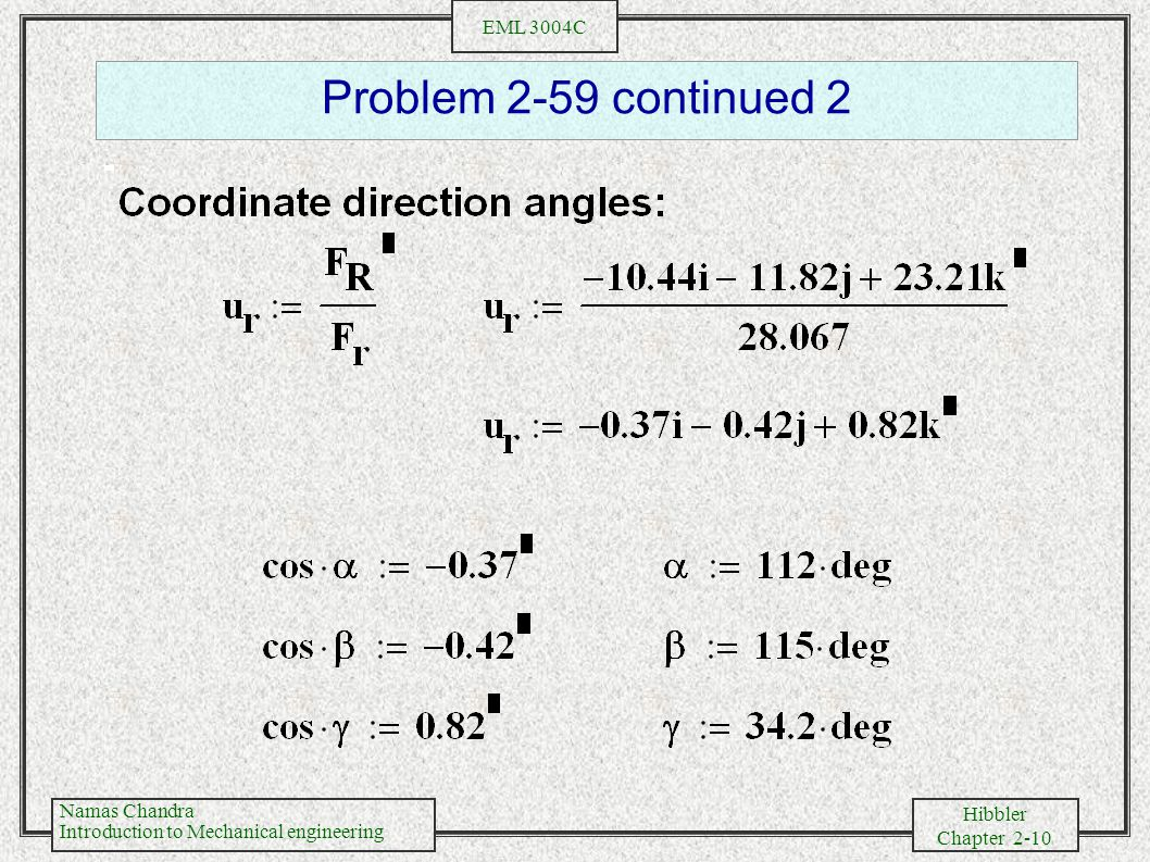 Problem 2-59 continued 2