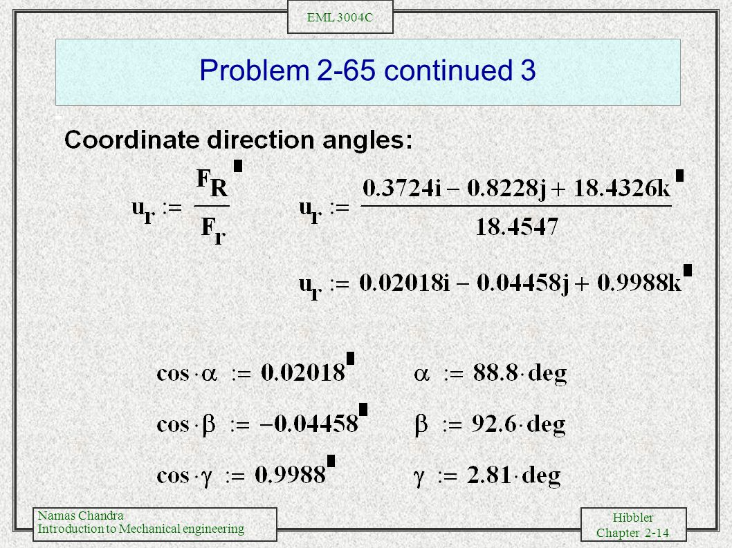 Problem 2-65 continued 3