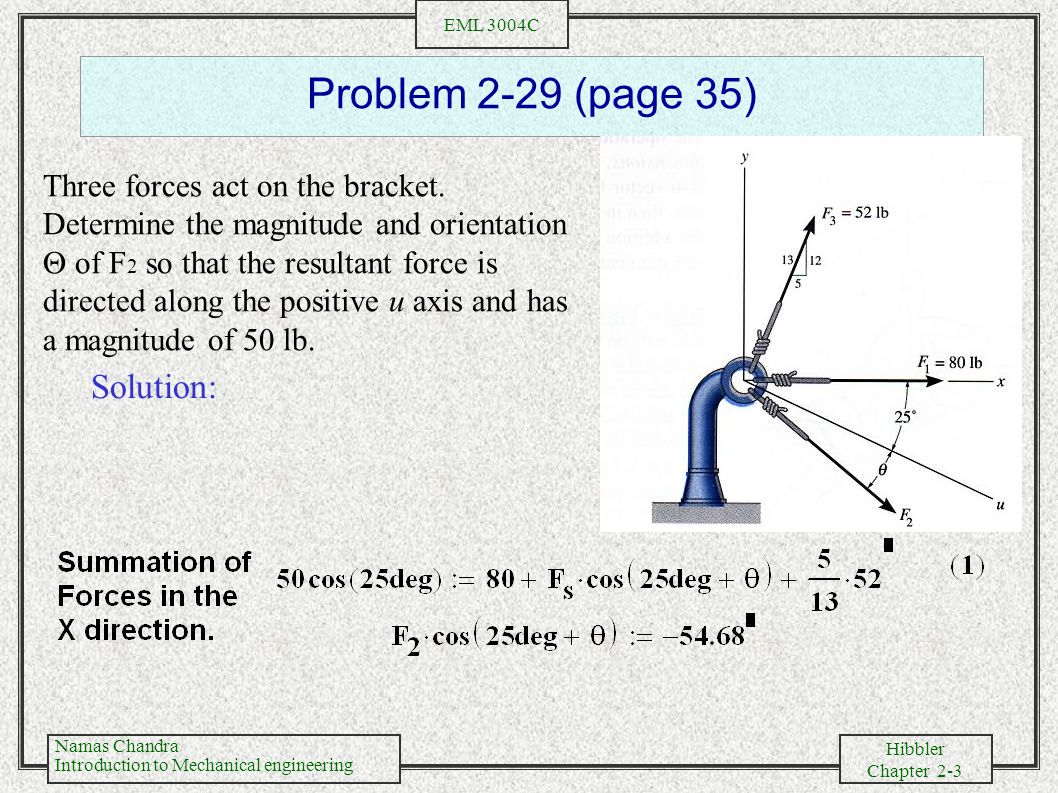 Problem 2-29 (page 35) Solution: