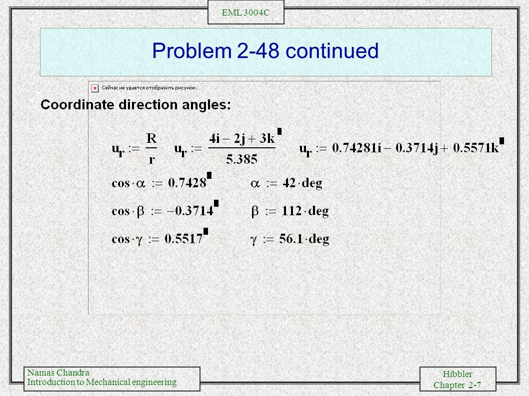 Problem 2-48 continued