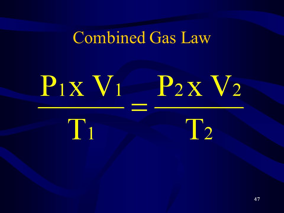 Combined Gas Law 15