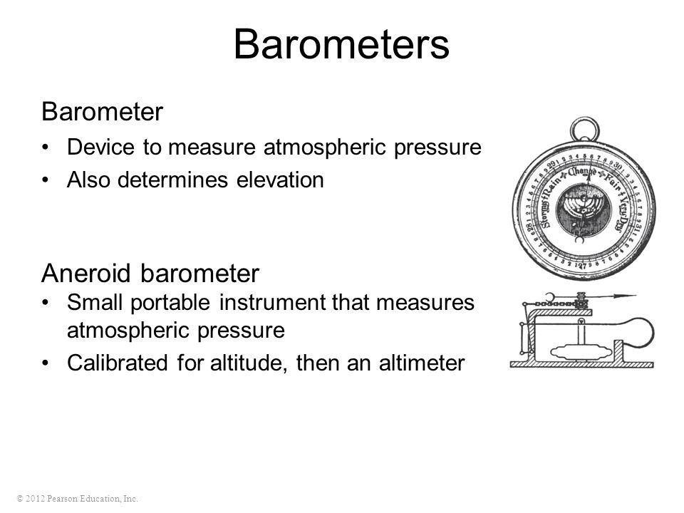 Barometers Barometer Aneroid barometer