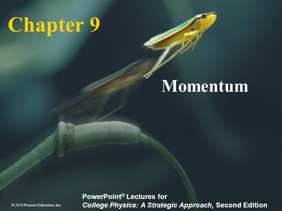 Chapter 9 Momentum