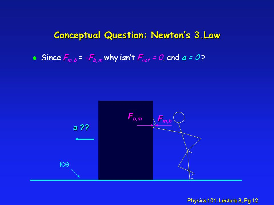Conceptual Question: Newton's 3.Law