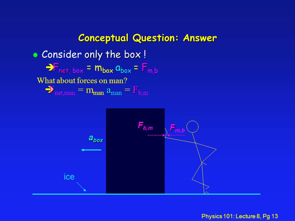 Conceptual Question: Answer