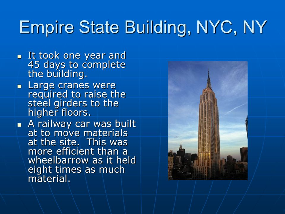 Empire State Building, NYC, NY