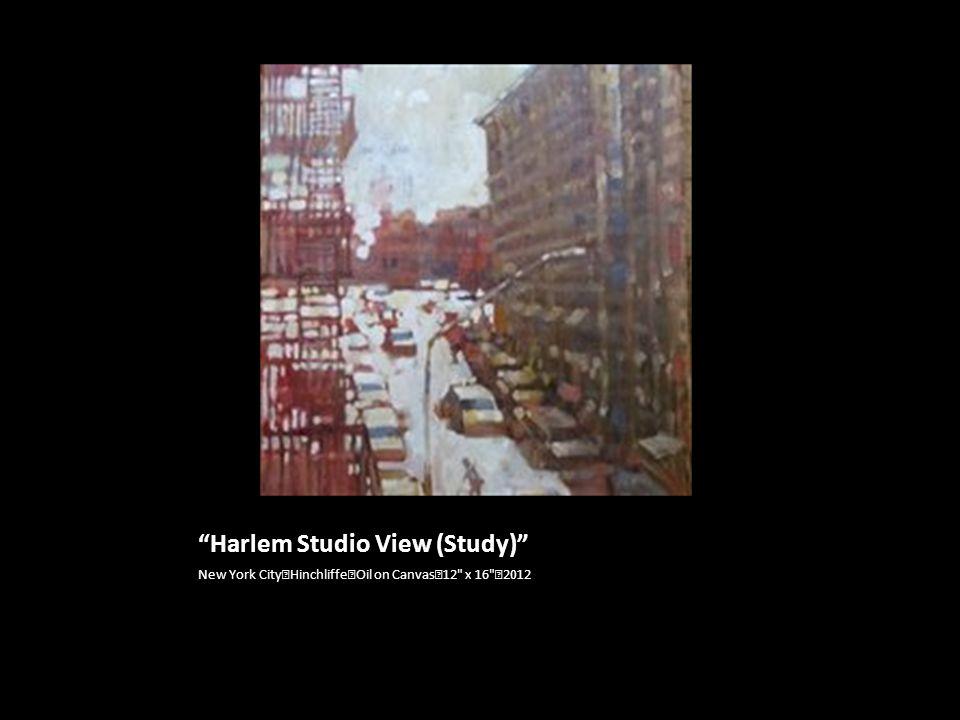 Harlem Studio View (Study)