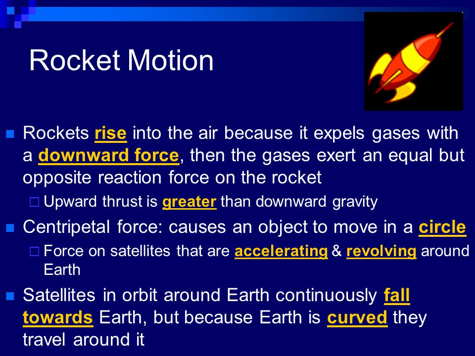 Rocket Motion