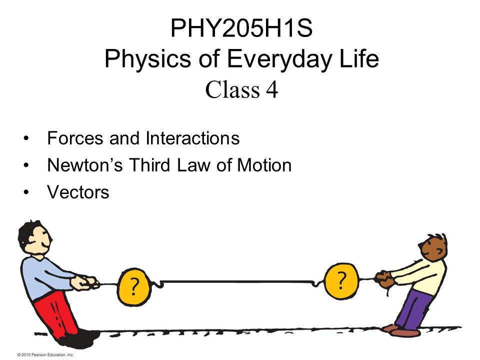 PHY205H1S Physics of Everyday Life Class 4