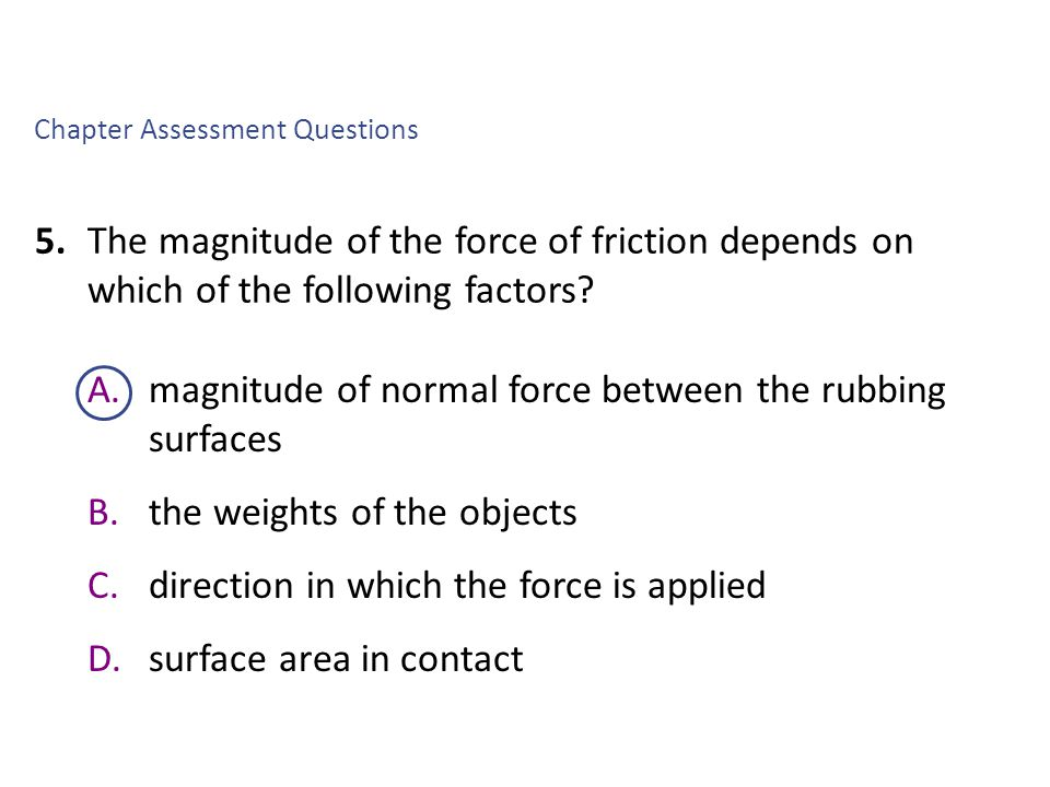 Chapter Assessment Questions 9