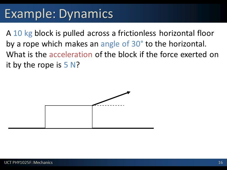 Example: Dynamics