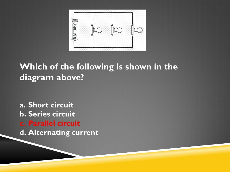 Which of the following is shown in the diagram above