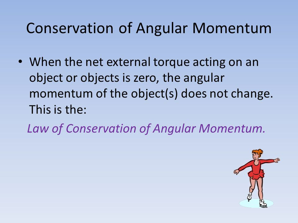 Conservation of Angular Momentum