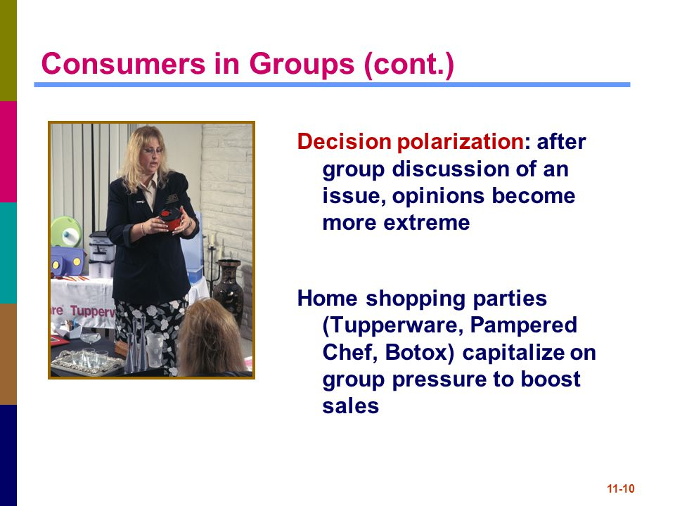 Consumers in Groups (cont.)