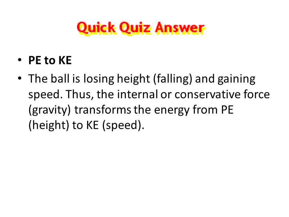 PE to KE