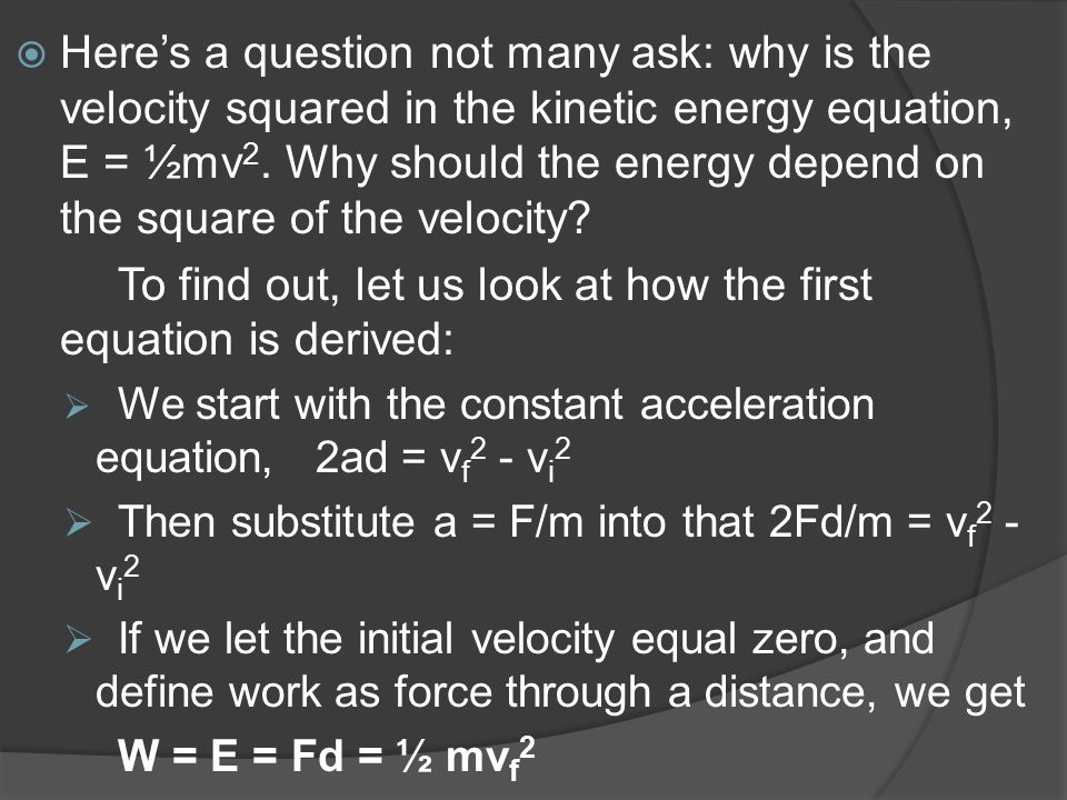 To find out, let us look at how the first equation is derived:
