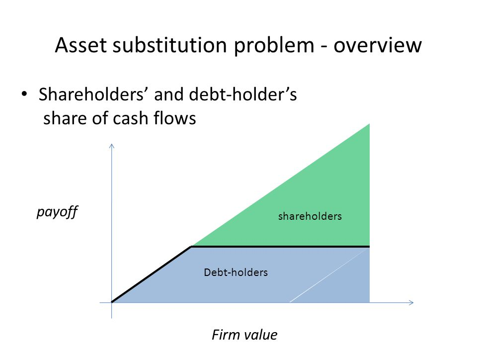 Asset substitution problem - overview