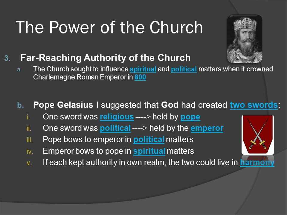 The Power of the Church Far-Reaching Authority of the Church