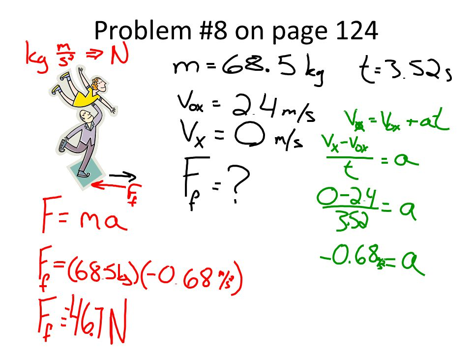 Problem #8 on page 124