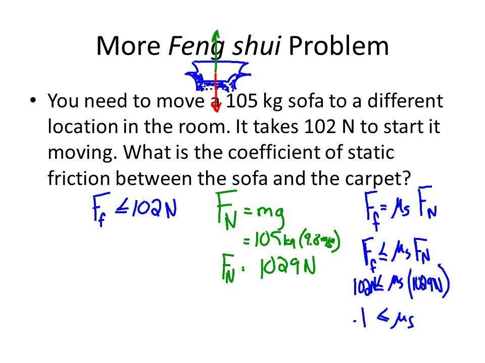 More Feng shui Problem