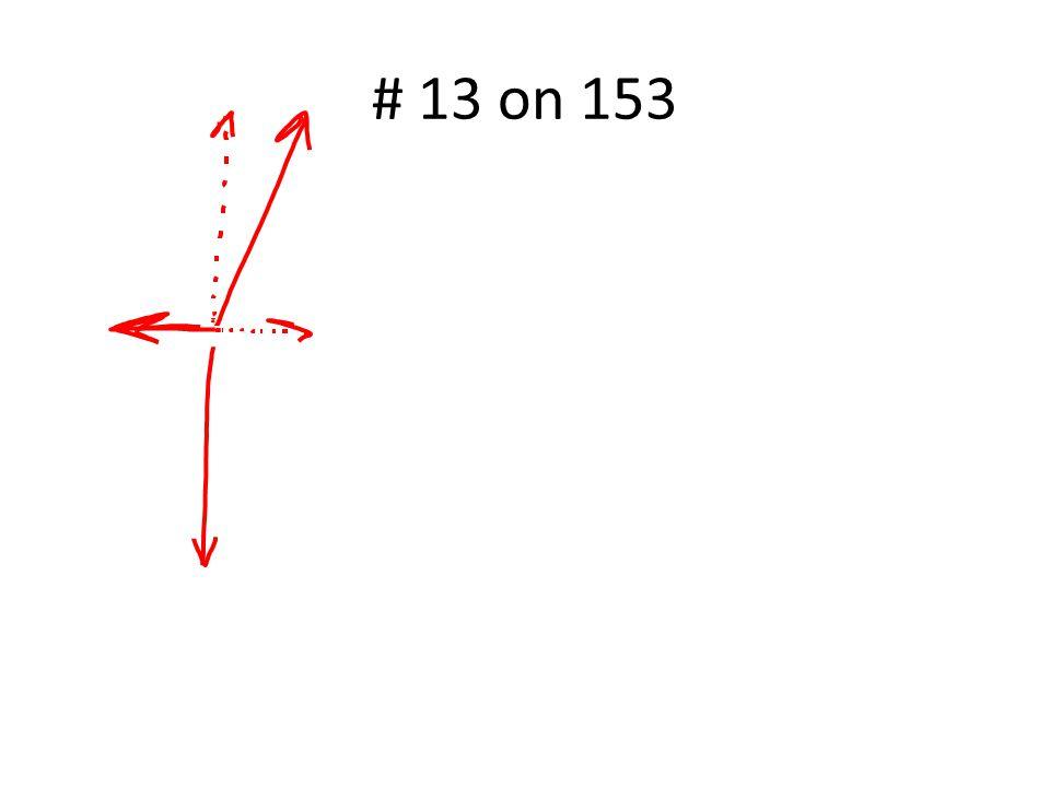 # 13 on 153
