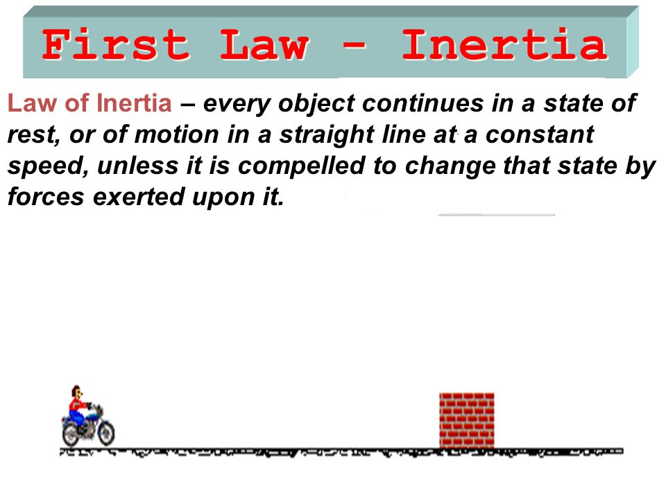 First Law - Inertia