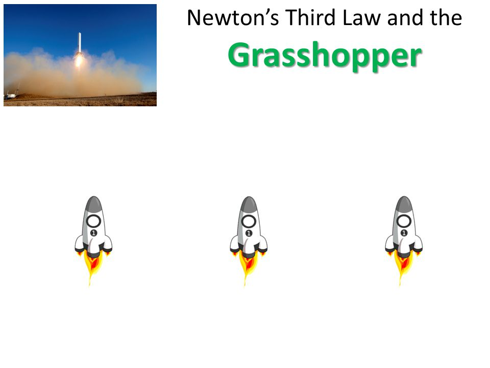 Newton's Third Law and the Grasshopper