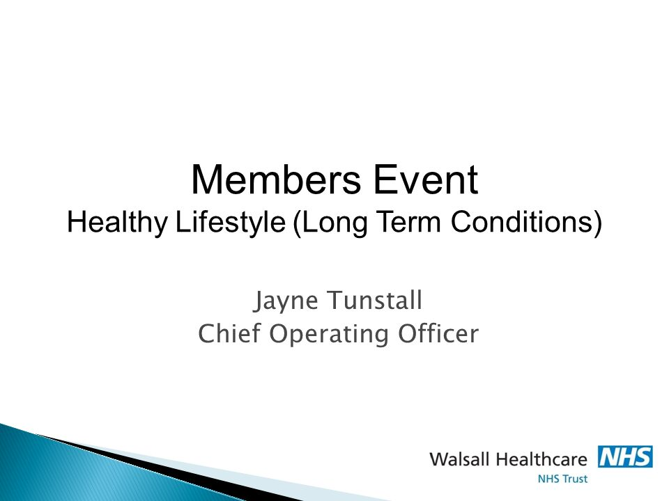Jayne Tunstall Chief Operating Officer