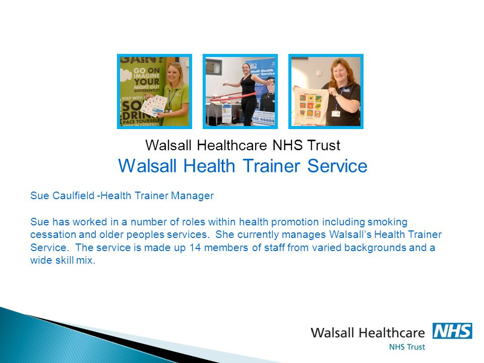 Walsall Health Trainer Service
