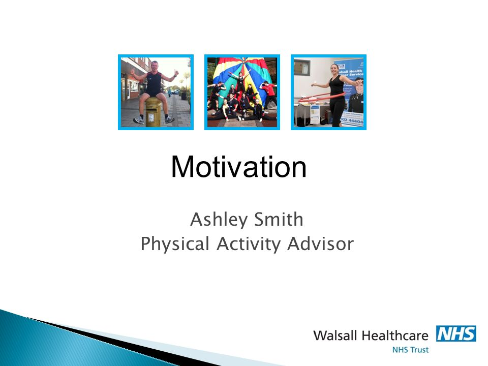 Ashley Smith Physical Activity Advisor