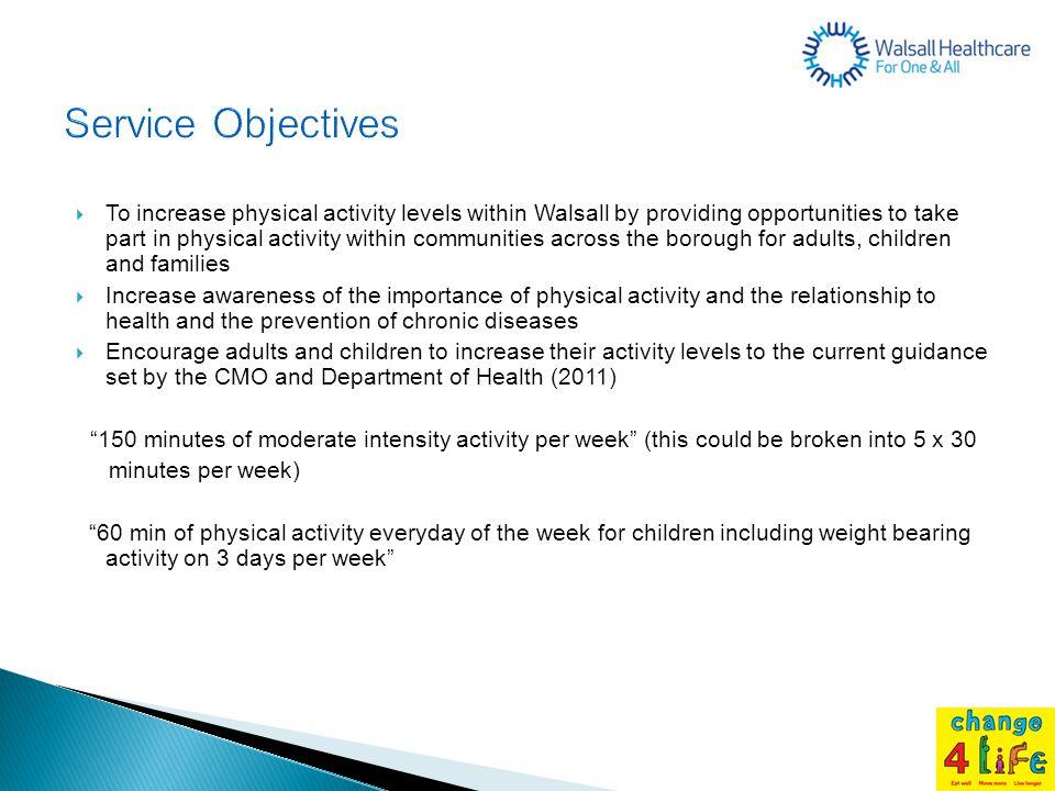 Service Objectives