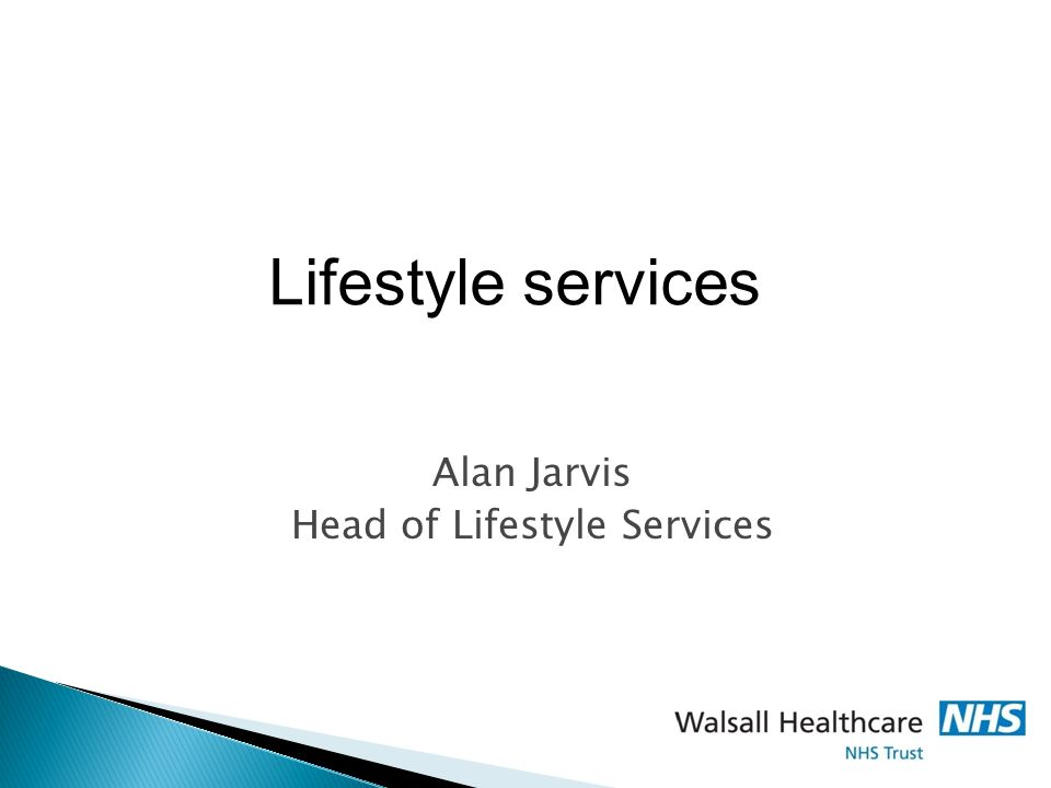 Alan Jarvis Head of Lifestyle Services