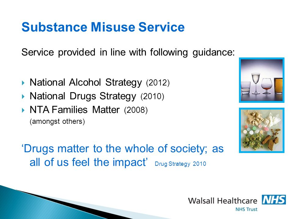 Substance Misuse Service