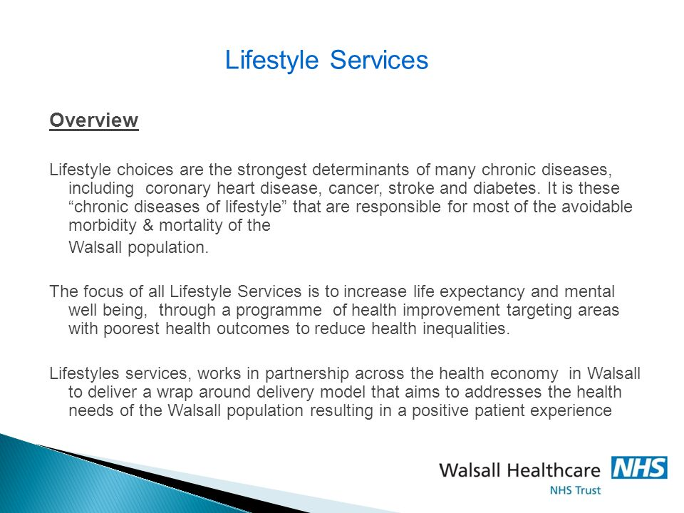 Lifestyle Services Overview