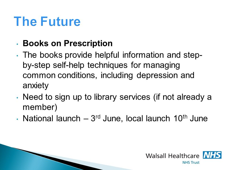The Future Books on Prescription