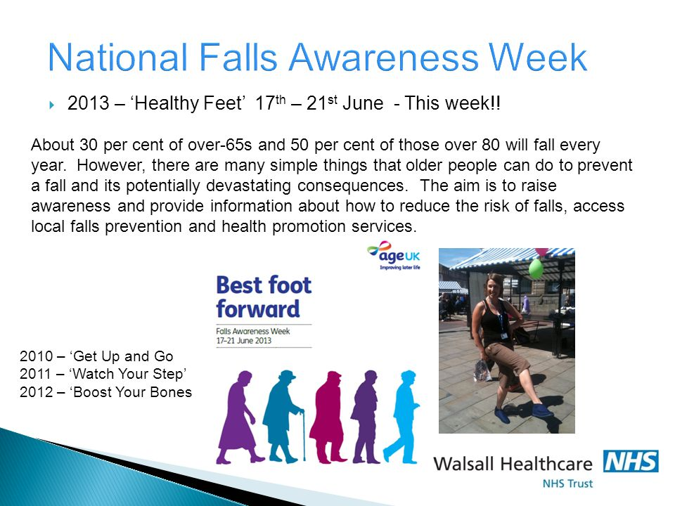 National Falls Awareness Week